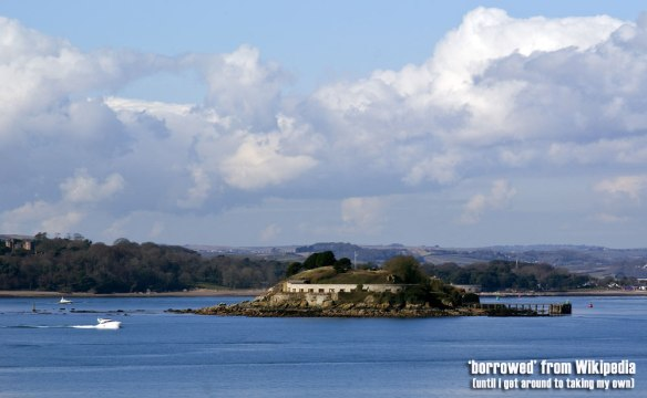 Drake's Island, Plymouth: Just Friggin' Go There!   georgie